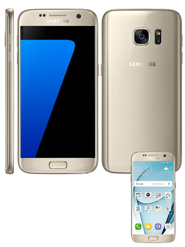 Samsung G930F Galaxy S7 - Gold