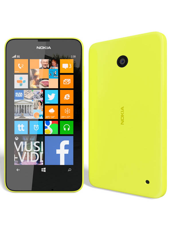 Nokia Lumia 630 - Yellow