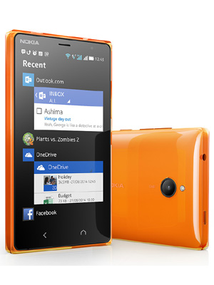 Nokia X2 Dual SIM - orange black