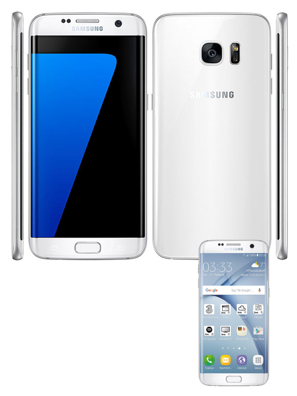 Samsung G935F Galaxy S7 edge - White