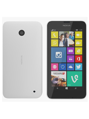Nokia Lumia 630 White